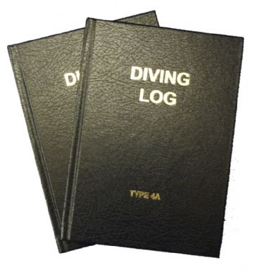 PDC 10 BOOK LOGBOOK DIVING <BR> TYPE 4A